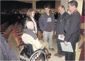 El lleidatà Xavier Murillo, mosso en pràctiques ferit en acte de servei i que va quedar paraplègic, va ser indemnitzat i va renunciar a seguir en el cos
