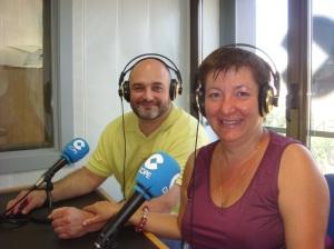 Elena Ribera i Miquel Àngel Regero a la COPE