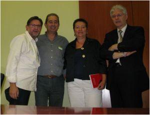 reunió amb Elena Ribera