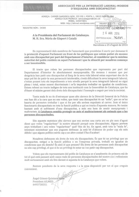 carta parlament_
