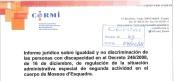 Sobre el Decret 246/2008 de Segona activitat al cos de Mossos d'Esquadra