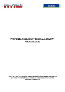 REGLAMENT 2a ACTIVITAT PL (model)