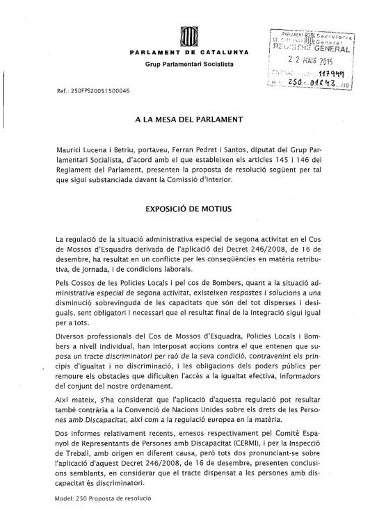 Proposició resolució PSC 1er full