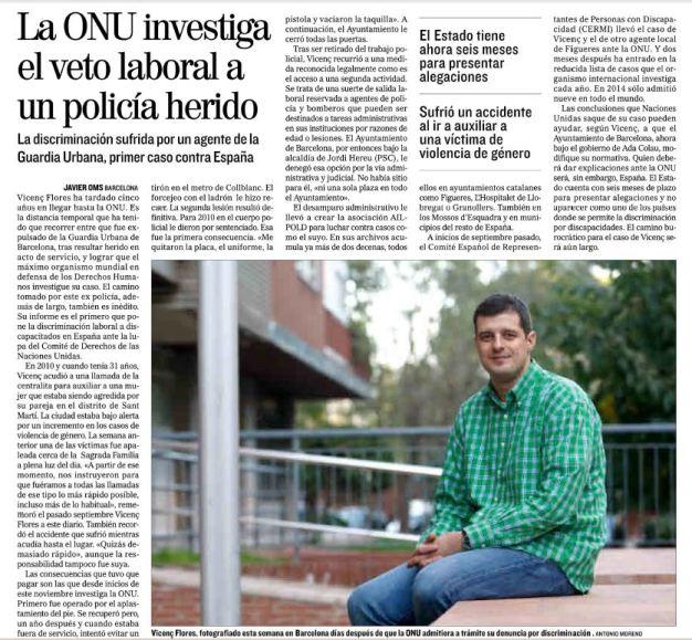 Artcle El Mundo 15-11-15