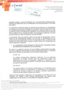 Informe CERMI dictamen