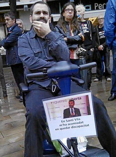 Jordi fue atropellado por un conductor bebido que le causó una discapacidad del 65 por ciento