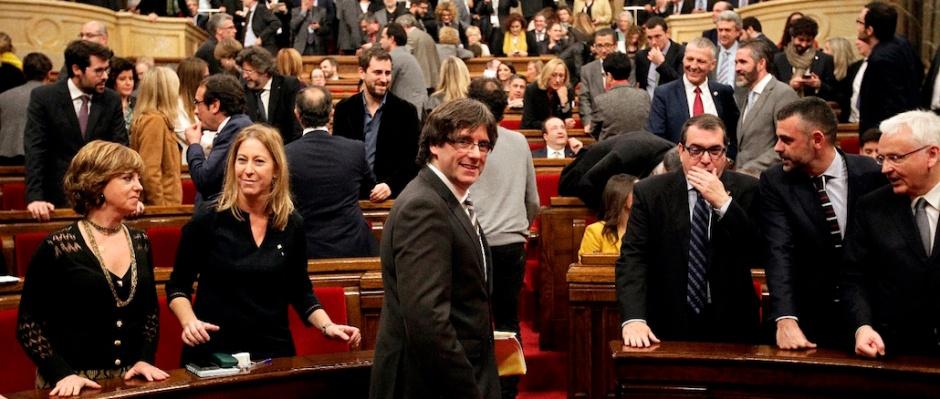 Ple al Parlament